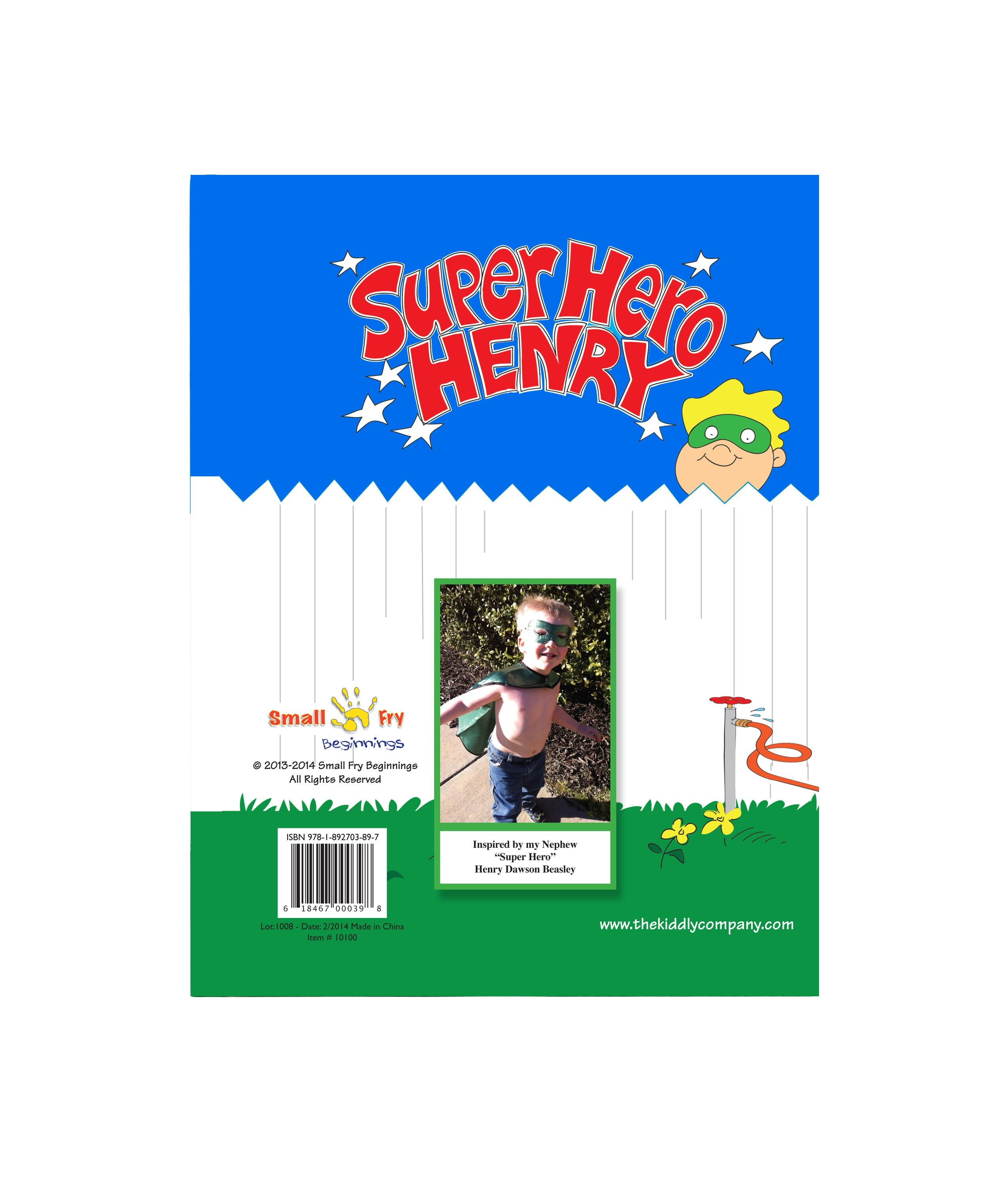 Super Hero Henry Picture Storybook by Stephanie Beasley