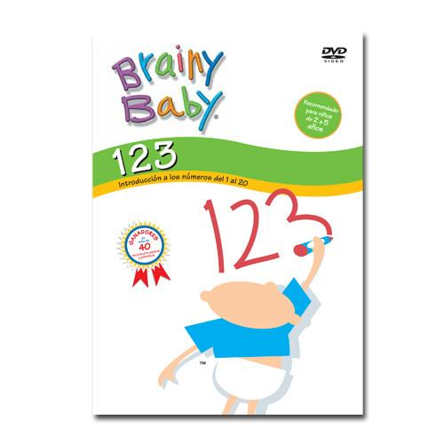 Brainy Baby Spanish 123s DVD Introducing Numbers 1 to 20 Classic Edition