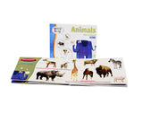 Brainy Baby Animals Board Book Spread