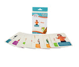Brainy Baby Talking Hands Flashcard Set Discovering Sign Language Cards