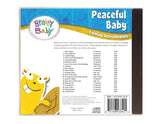 Brainy Baby Peaceful Baby Music CD Back Cover Song List