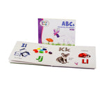 Brainy Baby® ABCs Introducing the Alphabet Board Book, Flashcards & DVD Collection for Preschool Children