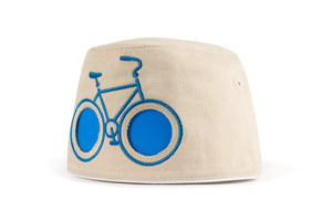 cooeee blue bike sunglasses hat