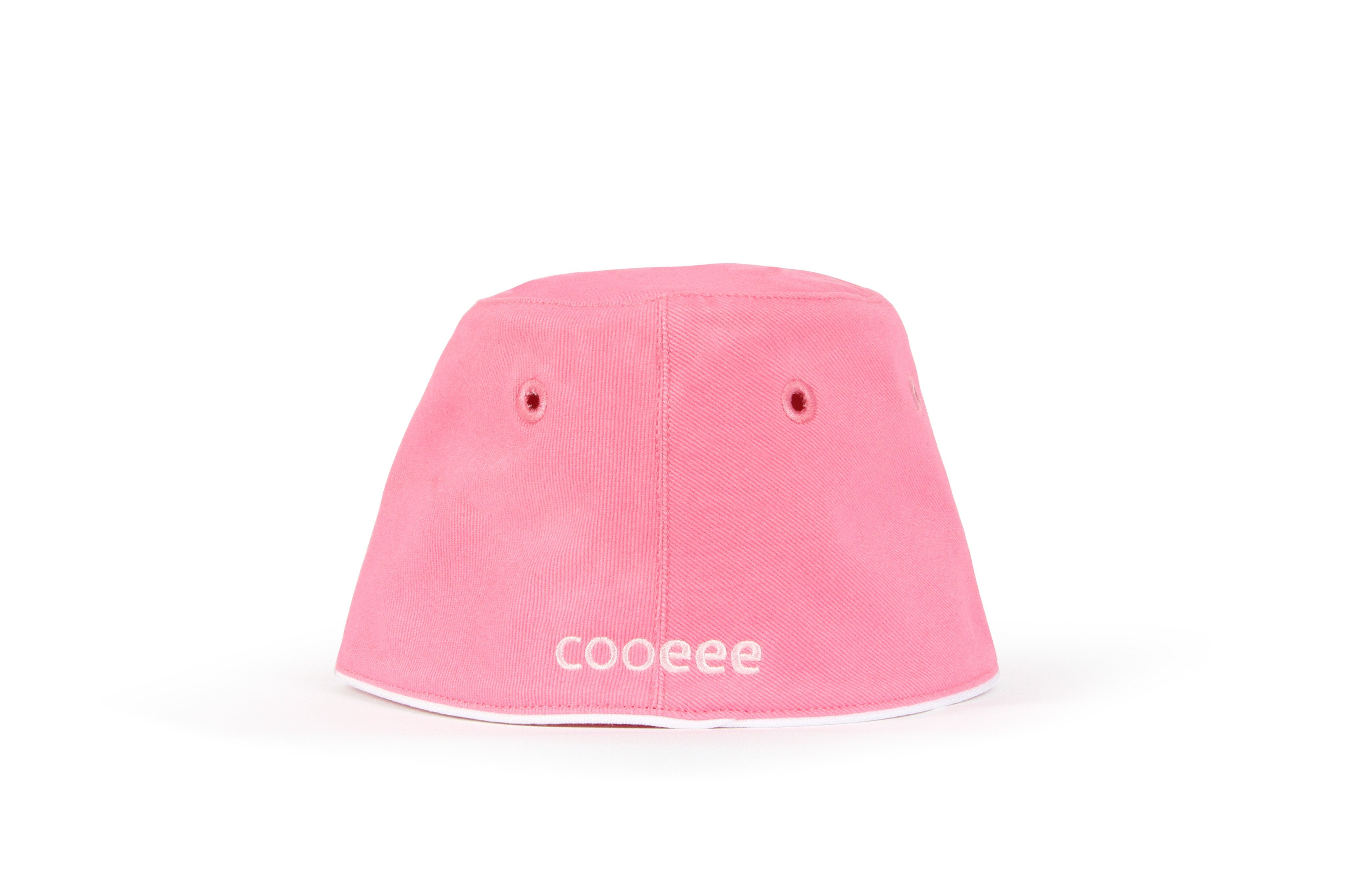 COOEEE Fairy Sunglasses Hat Pink with Pink Lenses by Boomerang Baby Back View