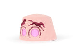 COOEEE Horses Sunglasses Hat Pink and Burgundy with Pink Lenses by Boomerang Baby