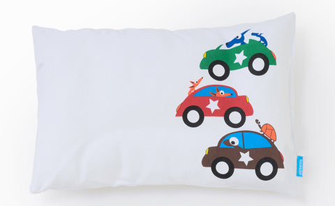 EGGKIDS CARS Pillowcase 100% Organic Cotton