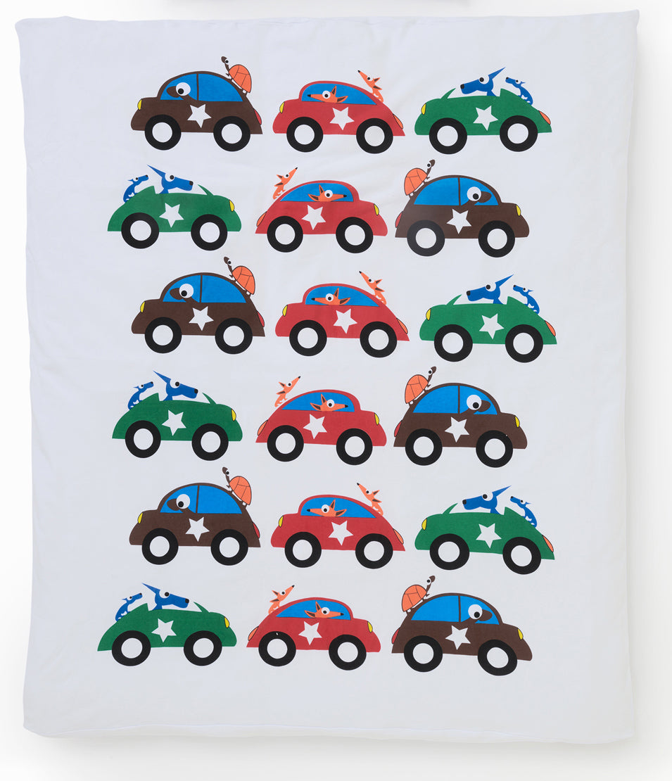 EGGKIDS CARS Crib/Bed Duvet Cover Only