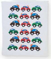 EGGKIDS CARS Crib/Bed Duvet Cover 100% Organic Cotton