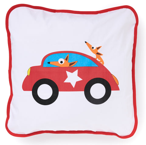 EGGKIDS CARS Decorative Pillowcase 100% Organic Cotton