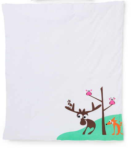 EGGKIDS SMÅLAND Crib/Bed Duvet Cover 100% Organic Cotton