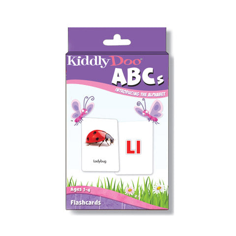 Kiddly Doo ABCs Flashcards