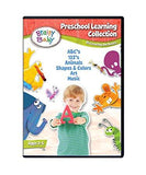 Brainy Baby DVD Preschool Learning Collection Discovering the Basics 6 DVD Gift Set Deluxe Edition