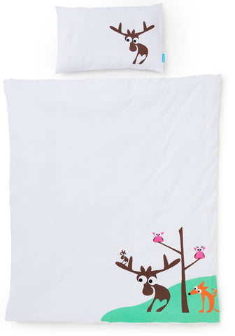EGGKIDS SMÅLAND Bedset Crib/Duvet Cover and Pillowcase 100% Organic Cotton