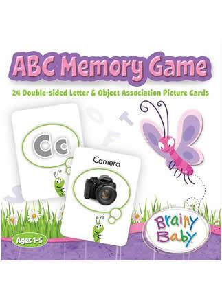 Brainy Baby Learn ABCs Memory Game