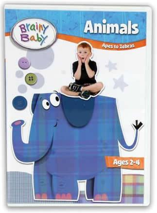 Brainy Baby® Animals DVD