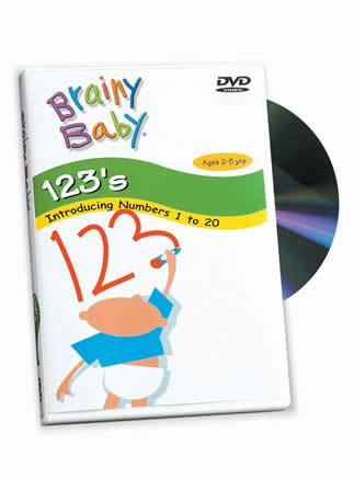 Brainy Baby® 123s Introducing Numbers 1 to 20 DVD Classic Edition