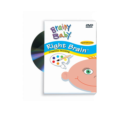 Brainy Baby Right Brain DVD: Creative Thinking Classic Edition
