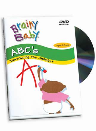 Brainy Baby® ABCs Introducing the Alphabet A to Z DVD Classic Edition