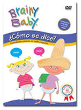 Brainy Baby Como se dice? Spanish English DVD
