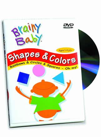 Brainy Baby® Shapes & Colors DVD (Classic)