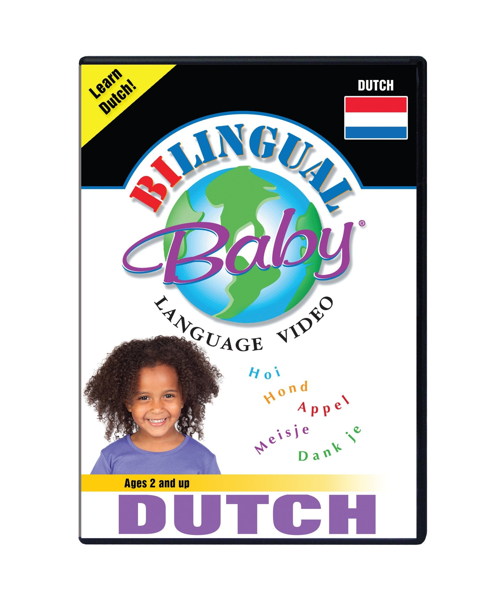 Bilingual Baby Learn Dutch Total Immersion DVD for Babies and Toddlers by Small Fry Beginnings
