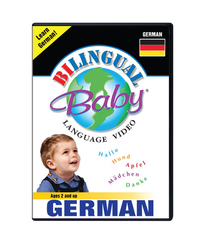 Bilingual Baby Learn German Total Immersion DVD for Babies and Toddlers by Small Fry Beginnings