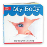 Hey Baby - My Body Board Book