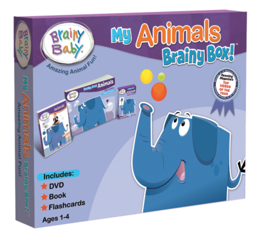 Brainy Baby My Animals Brainy Box Front Cover