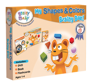 brainy baby my shapes & colors brainy box front cover