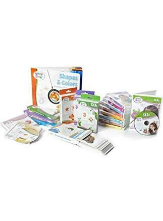 Brainy Baby DVDs, Books, Flash Cards and CD Collection - All In One Preschool Learning For a Lifetime System