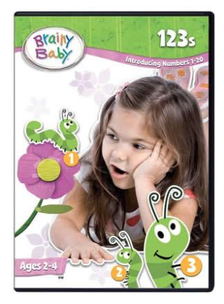 Brainy Baby 123s DVD Introducing Numbers 1 to 20 Deluxe Edition