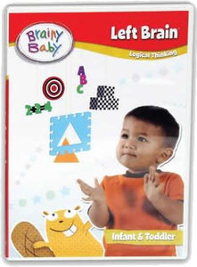 Brainy Baby Left Brain Logical Thinking : Infant Brain Development DVD Deluxe Edition