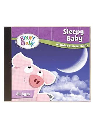Brainy Baby Sleepy Baby Music CD Soothing Instrumentals