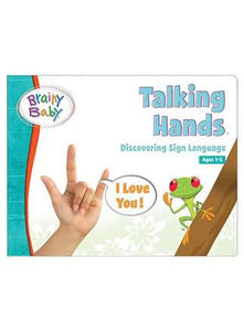 Brainy Baby® Talking Hands Discovering Sign Language Board Book for Preschool Children