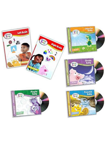 Brainy Baby Infant Learning For a Lifetime Collection of 2 DVDs and 4 CDs