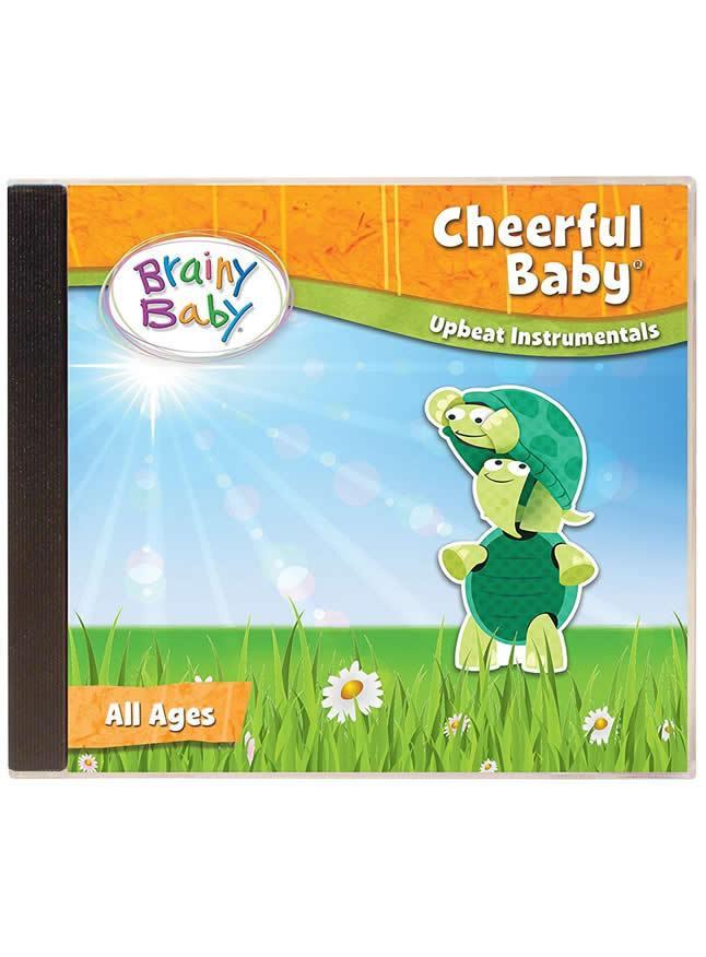 Brainy Baby Cheerful Baby Music CD Upbeat Instrumentals