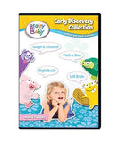Brainy Baby DVD Early Learning Discovery Collection Sparking Your Child's Curiosity 4 DVD Gift Set Deluxe Edition