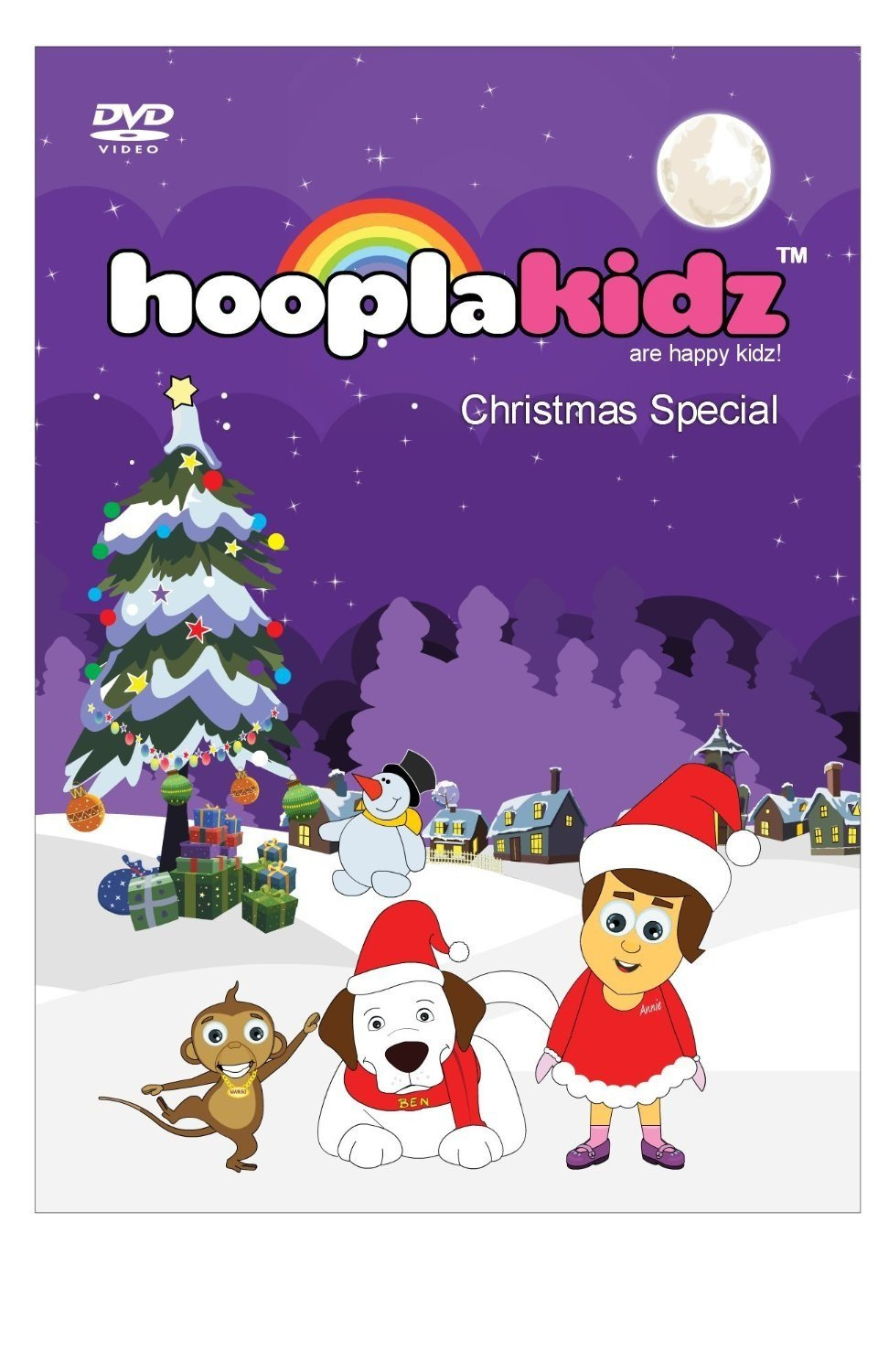 HooplaKidz Christmas Carols DVD