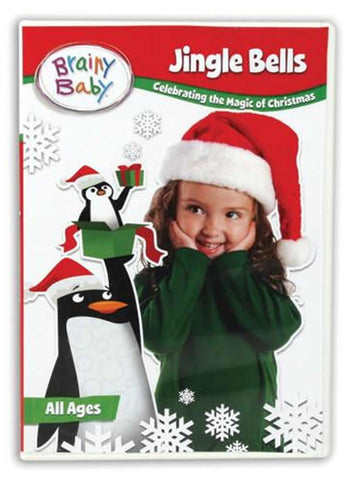 Brainy Baby Jingle Bells DVD Celebrating the Magic of Christmas