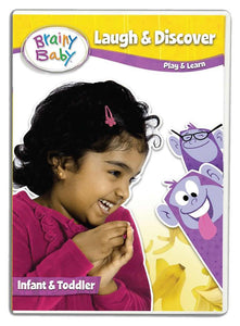 Brainy Baby Laugh & Discover Infant Learning DVD Deluxe Edition