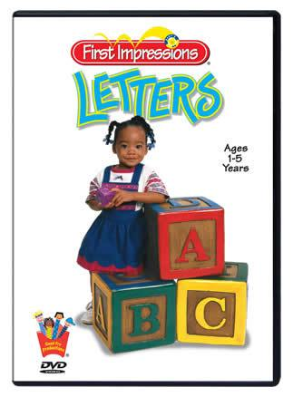 Baby's First Impressions® Letters DVD