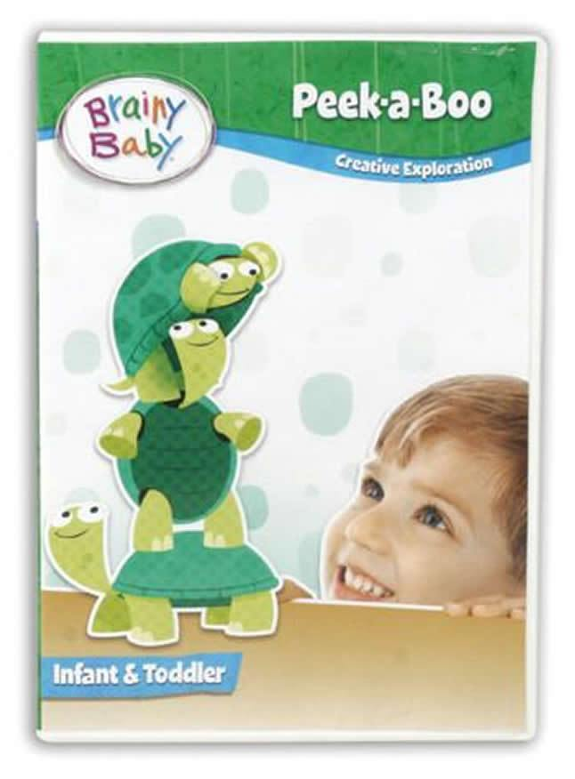 Brainy Baby Peek a Boo Infant DVD Exploring Creativity