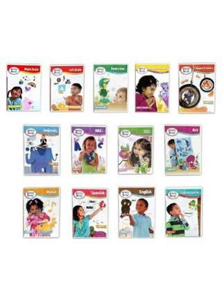 Brainy Baby Preschool Learning DVDs Complete Set of 13