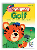 Brainy Baby's Sporty Baby Golf DVD Training Future Athletes and Good Sports