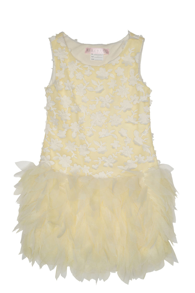 Biscotti Frilly Flowers Dress