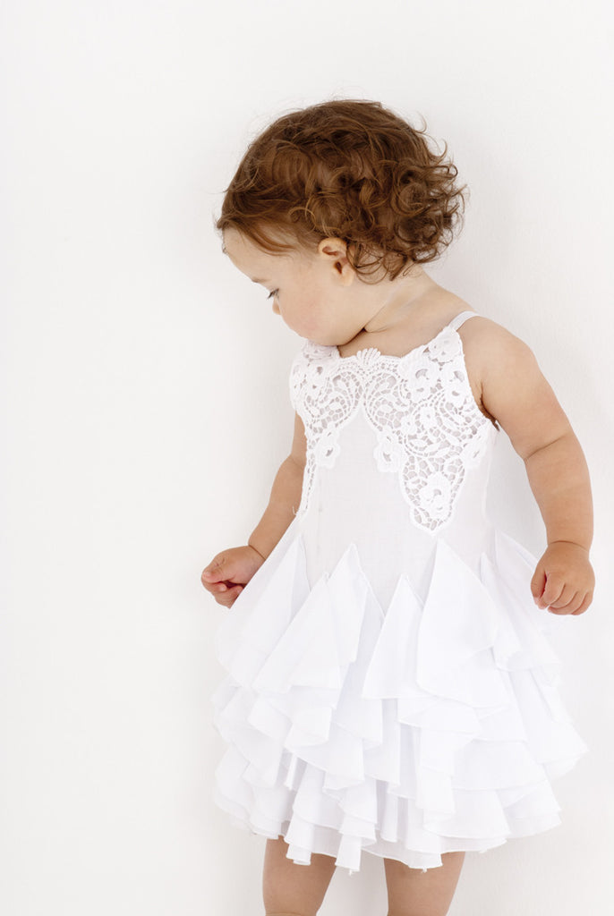 Biscotti Summer Whites Dress