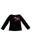 Biscotti Midnight Garden Top
