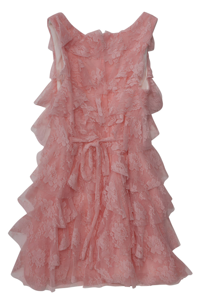 Biscotti Meadow Roses Dress in Coral