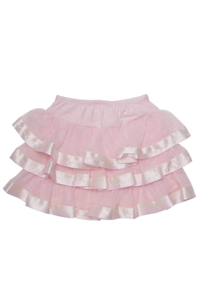 Biscotti Ode To Chanel Netting Skirt in Pink