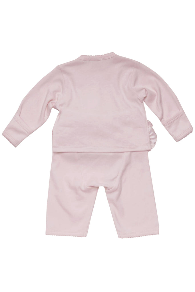 Baby Biscotti Couture Cutie Long Sleeve Top & Pant in Pink